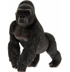 A beautifully standing ornamental Gorilla figure from the Leonardo Range
