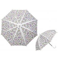 A quirky printed Childrens Umbrella with a magical decal!