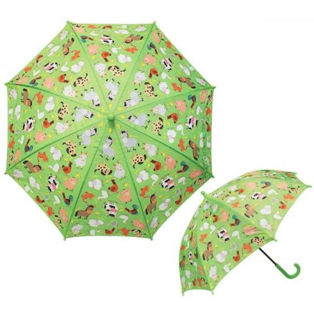 Fun Farm Childrens Umbrella