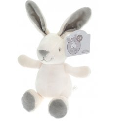 An adorable soft little bunny in neutral colours this bunny would make the perfect gift.