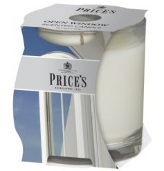 Bring home the feel of a bright and sunny day with this fresh scented candle pot
