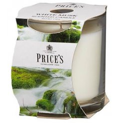 Freshen your home with a calming scent with this Prices candle jar