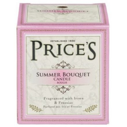 Prices Scented Boxed Candle Jar - Summer Bouquet