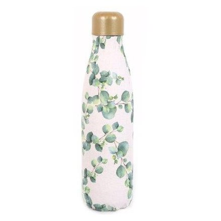 Eucalyptus Print Water Bottle, 500ml