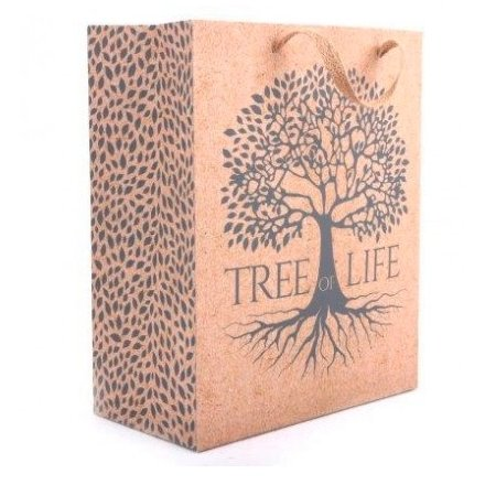 Silver Tree Gift Bag, 33cm