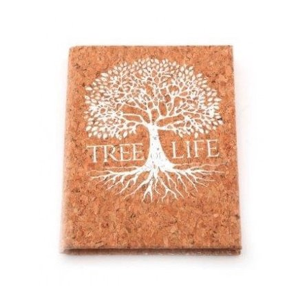 A6 Silver Tree Notebook