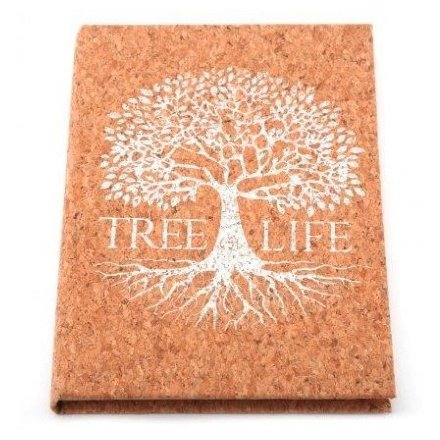 A5 Silver Tree Notebook