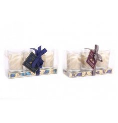 A mix of beautifully packaged Wax Candles from the gorgeous Golden Feather Range