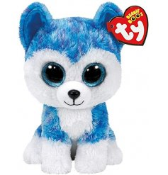 A cute and cuddly soft toy from the TY Beanie Boo Range
