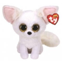 A cute and cuddly Artic Fox Soft Toy Called Phoenix!