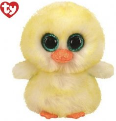 A snuggly duck soft toy from the popular TY Beanie Boo Range