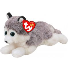 Cute and cuddly Baltic the husky from the TY Beanie Boo Range