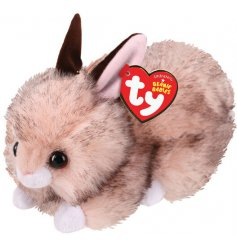 A cute and cuddly little bunny soft toy from the favourite TY Beanie Baby Range