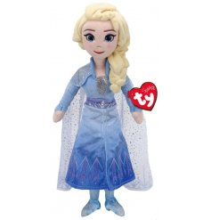 From the magical Disney Film Frozen, this Elsa Soft Toy Doll also has a sound feature