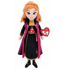 A magical Anna Soft Toy From the Frozen Film!