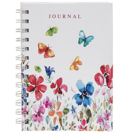 Colourful Meadow A6 Notebook