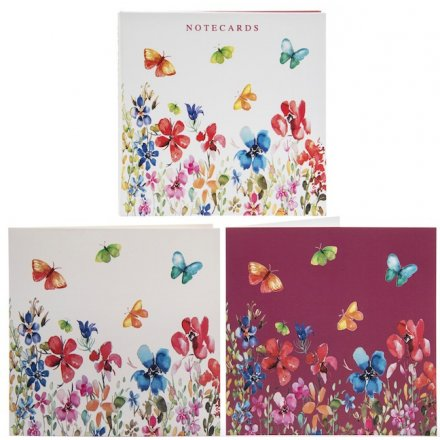 Colourful Meadow Notecards