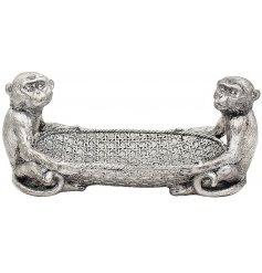 A Silver Art Inspired Ornament from the Leonardo Range,