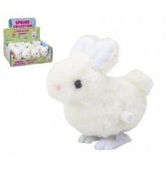 A wind-up bouncing bunny, perfect pocket money gift for Easter.