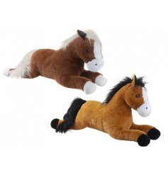 Two charming realistic horse soft toys for any young horse fanatic.