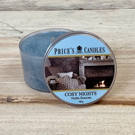 Prices Candle Tin - Cosy Nights