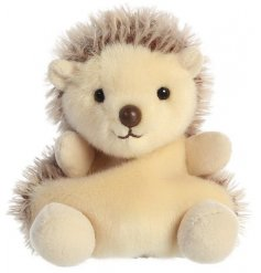 Hedgie The Hedgehog Palm Pal, 5inch   A small, soft and snuggly little hedgehog toy that can fit in the palm of your han