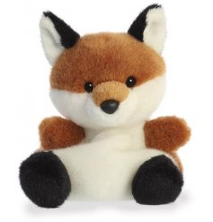 A small, soft and snuggly little fox toy that can fit in the palm of your hand!