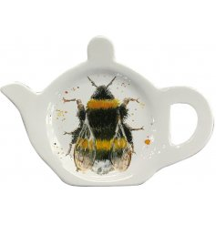A charming bee design tea bag tidy. A stylish and practical accessory for the kitchen.