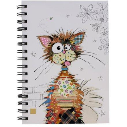 A5 Ziggy Cat Bug Art Notebook