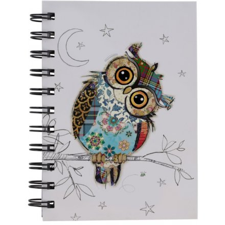 A6 Own Owl Bug Art Notebook