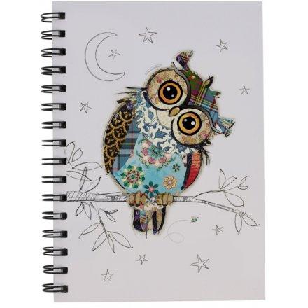 A5 Own Owl Bug Art Notebook