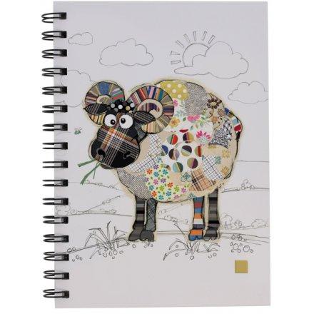 A5 Raymond Ram Bug Art Notebook