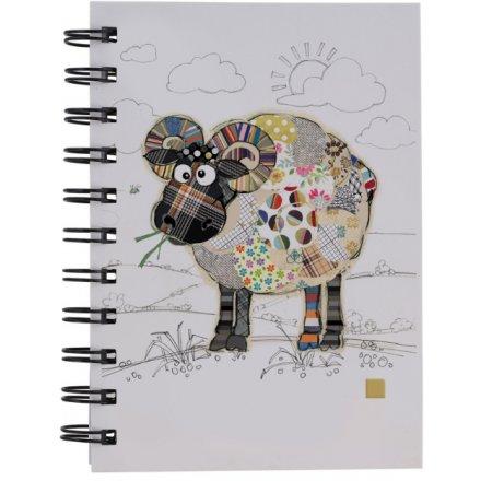 A6 Raymond Ram Bug Art Notebook