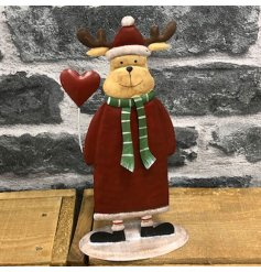 A charming and jolly decoration to bring to your home at Christmas time