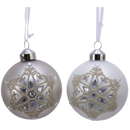 Sure to add a whimsical touch to any Winter Wonderland inspired tree displays at Christmas