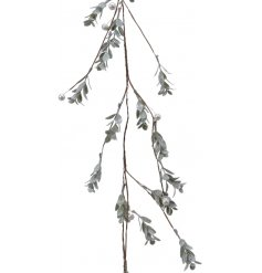 Perfect for entwining around Stair Cases, Windowsills and Fire places, a beautiful Frost Finished Berry and Leaf Garland