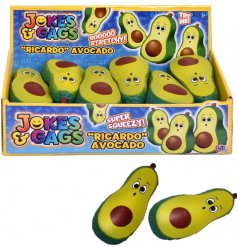 Squish, pull, smash and shape this quirky avocado stress ball!