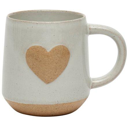 Stone Heart Mug, 13.5cm