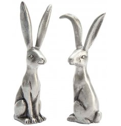 Perfect for keeping your rings all in one place, a mix of standing bunnies with long ears