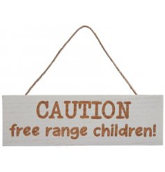 A wooden hanging plaque featuring a white washed tone and natural wood scripted text decal
