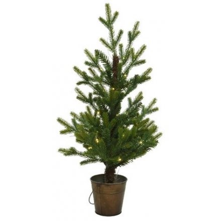 LED Potted Mini Tree, 60cm