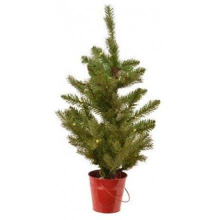 Mini Tree With LEDs, 45cm