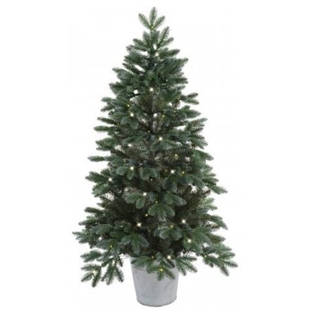 this festive tree will be sure to place perfectly in any home space during Christmas with its added LED lights