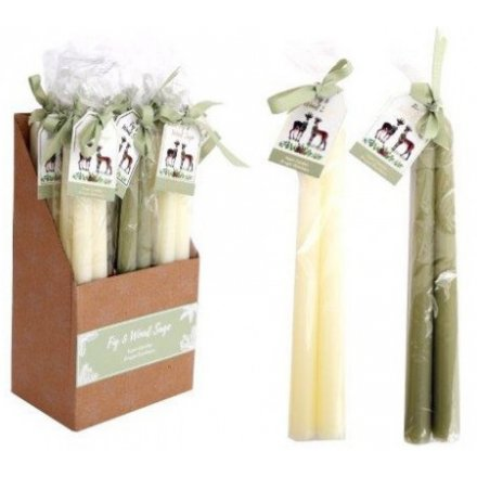 Fig And Wood Sage Candle Stick Sets