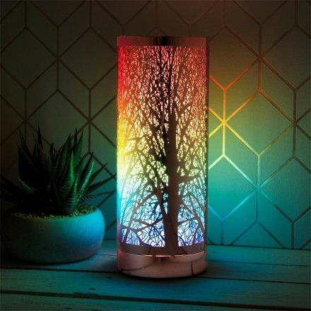 Rainbow Desire Woodland Touch Lamp