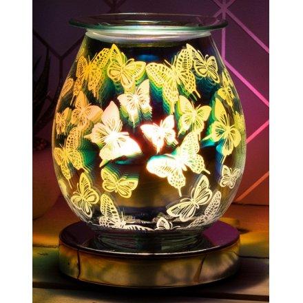 Desire Aroma Lamp Butterflies, 15cm