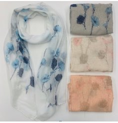 Perfect for adding a splash of colour to any Summer outfit, this mix of 3 floral printed scarves will tie in with any lo
