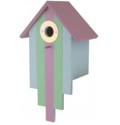A charming and fun themed Bird Box to add to your garden!