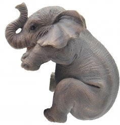 Add a cute touch to any plant pot with this adorable elephant decoration