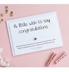 A little wish to say congratulations.
